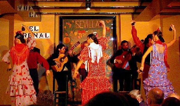 Andal zia var zsa spanyolorsz g spanyolorsz g k rutak for Espectaculo flamenco seville sevilla